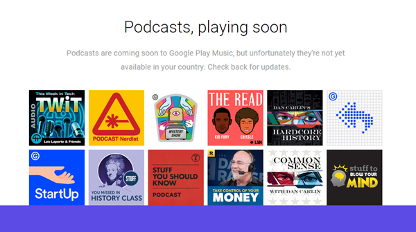 PlayMusicPodcasts