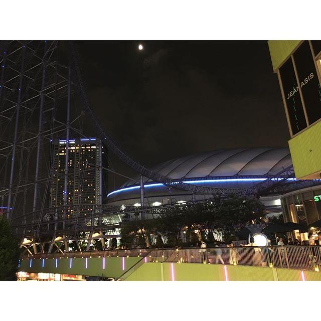 お出かけ第一弾、終了!#東京ドーム