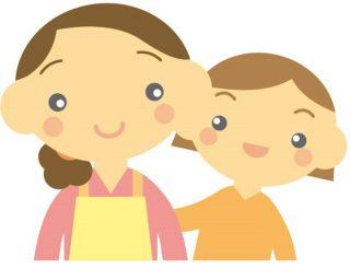 親と子の絵になる姿
