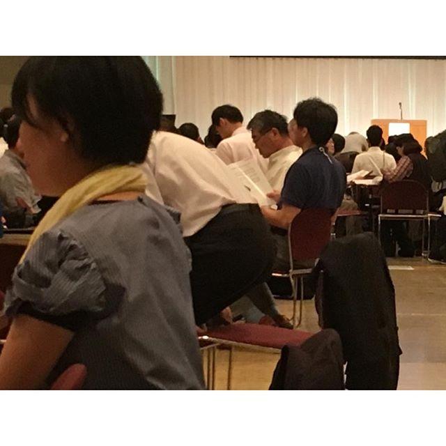 日本伝道会議in神戸もうすぐ二日目の開始。#jce6
